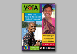 Gender emphasis vote poster