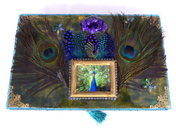 Peacock Jewelry Box – Top view