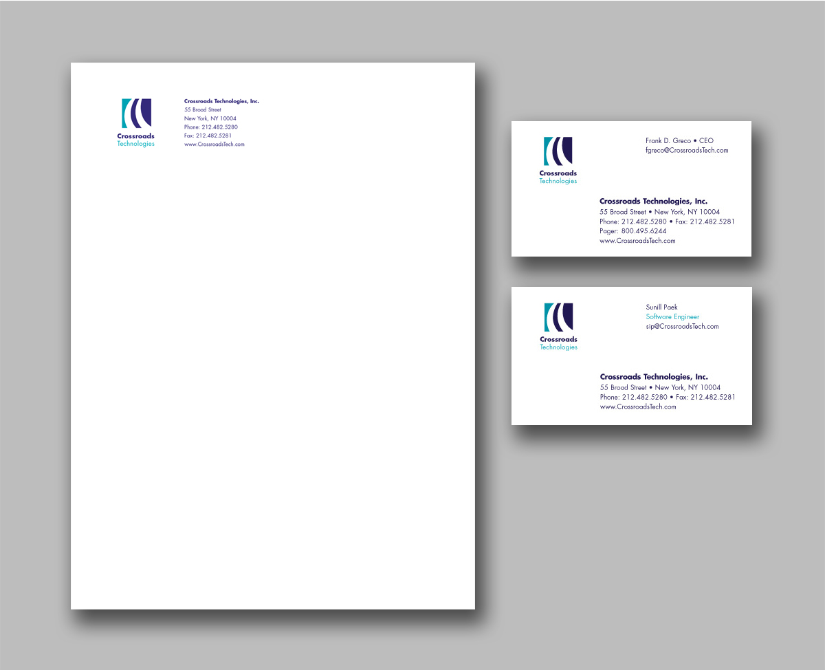 Crossroads Technologies stationery system