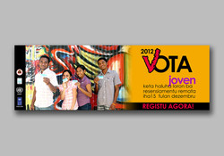 Youth campaign registration sticker