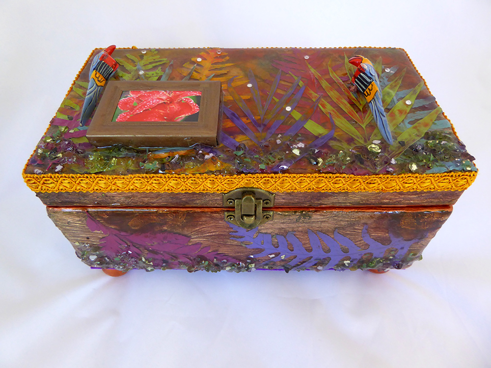 Tropical Jewelry Box