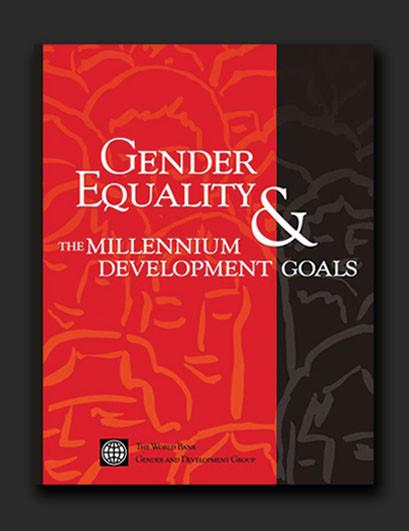 World Bank Gender Equality Millennium Goals campaign