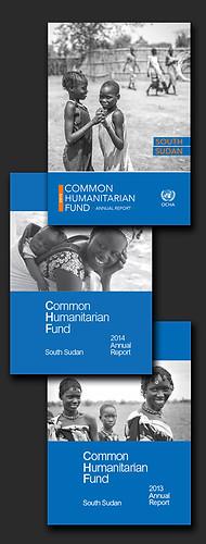 OCHA South Sudan Common Humanitarian Fund annual reports 2013-2015