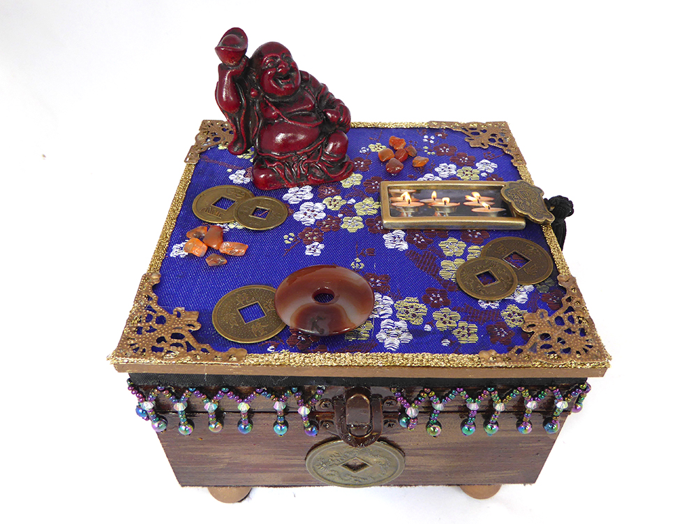 Buddha Meditation Jewelry Box – Top