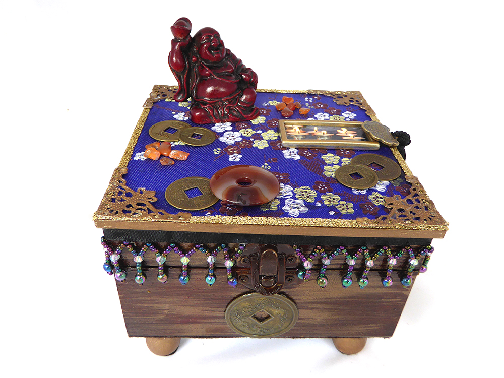 Buddha Meditation Jewelry Box
