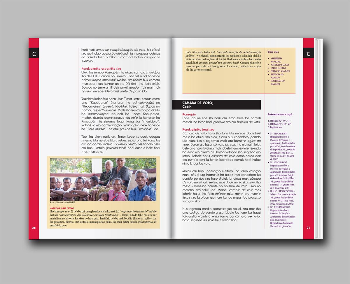 CNE Electoral dictionary