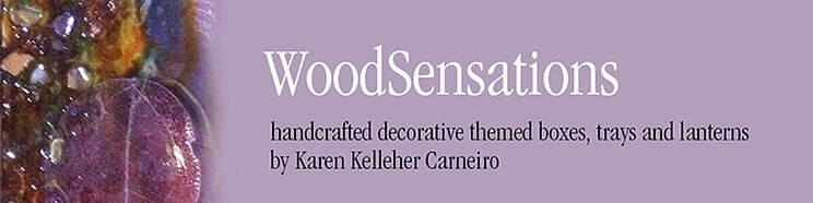 Wood Sensations Handcrafted boxes and trays