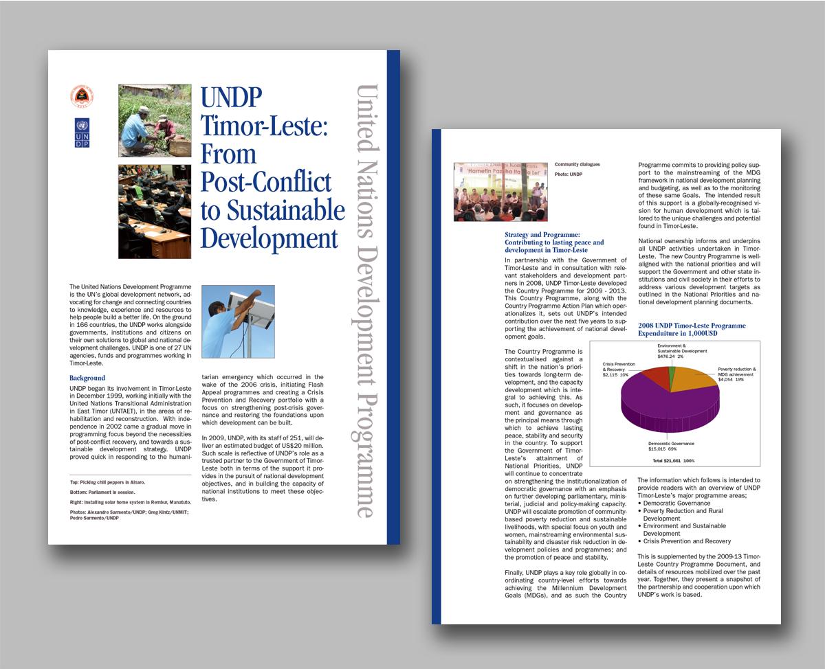UNDP fact sheets