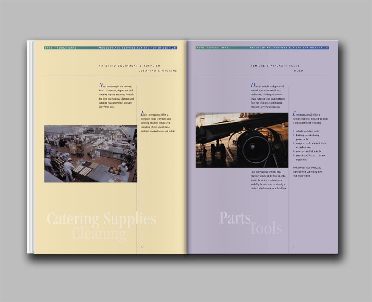 Eton International capabilities brochure