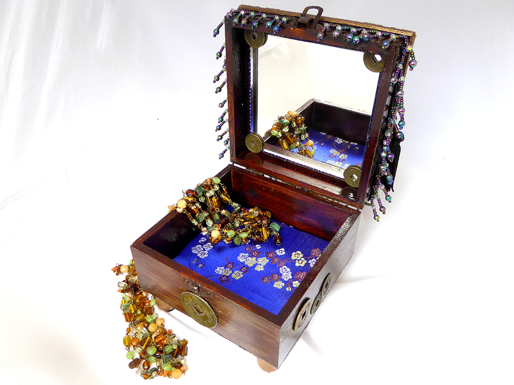 Buddha Jewelry Box – Interior