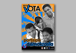 Youth election campaign poster