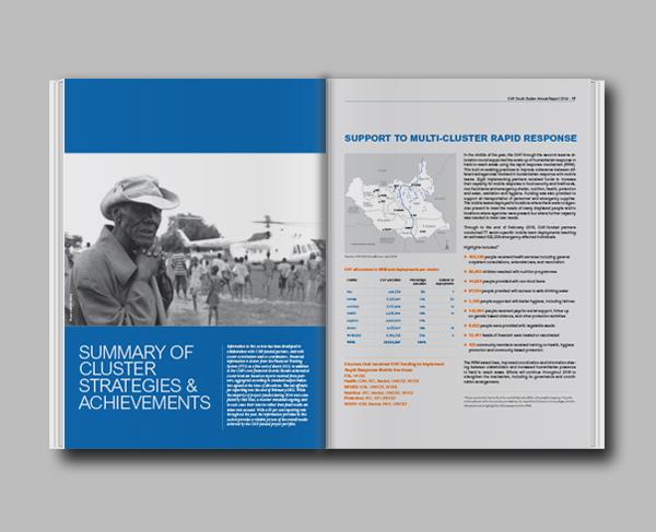OCHA CHF annual report 2014