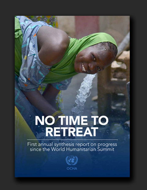 No Time to Retreat - World Humantarian Summit follow up report