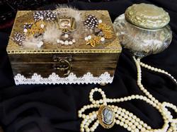 Art Deco Jewelry Box – in setting