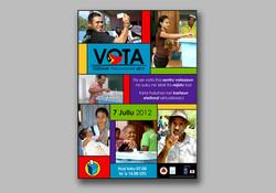 Parliament Election vote poster