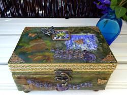 lavender decorative box