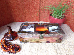 Love, Light, Peace Jewelry Box