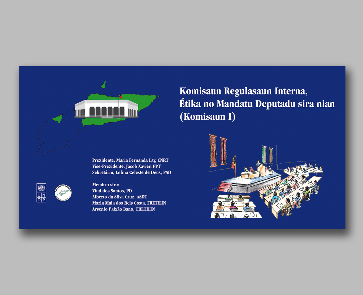Timor-Leste Parliament banner