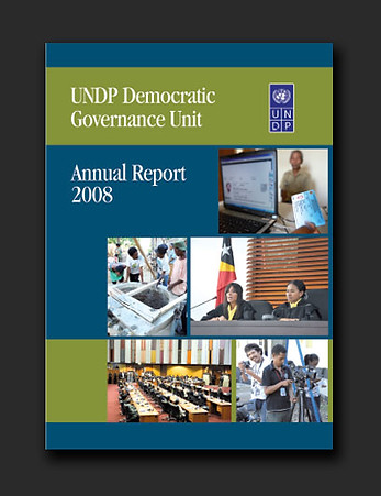 UNDP Governance annual report 2008