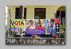 Gender emphaisis vote banner
