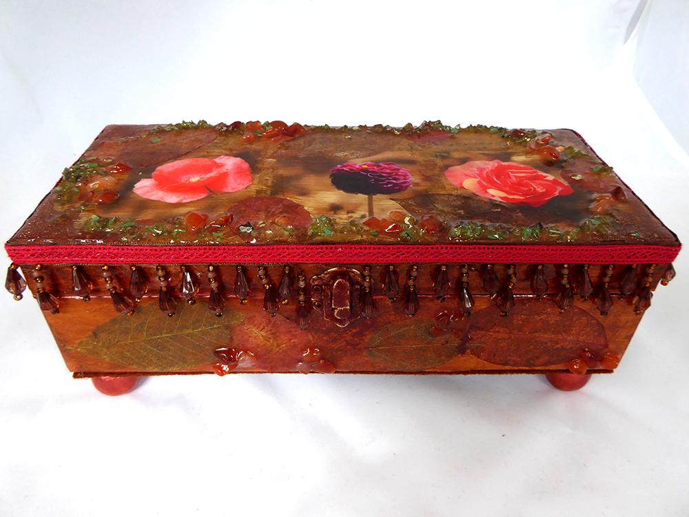 Jewelry Box - Flower design