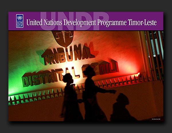 UNDP Timor-Leste media posters