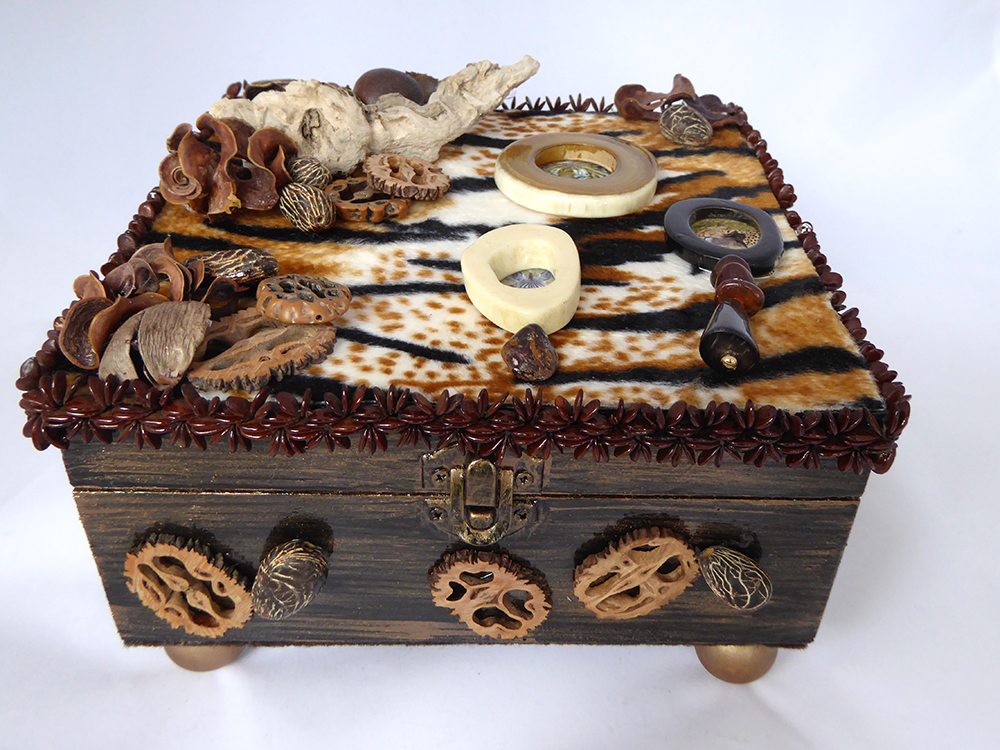 African Safari Jewelry Box