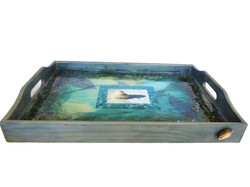 beach serving tray-front view