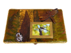 Dragonfly Jewelry Box – Top view
