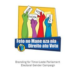 Timor Parliament Election – Gender