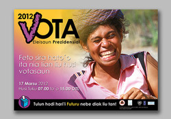 Timor-Leste Presidential Elections