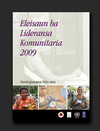 Timor-Leste Community Leaders Election Women's Participation publication
