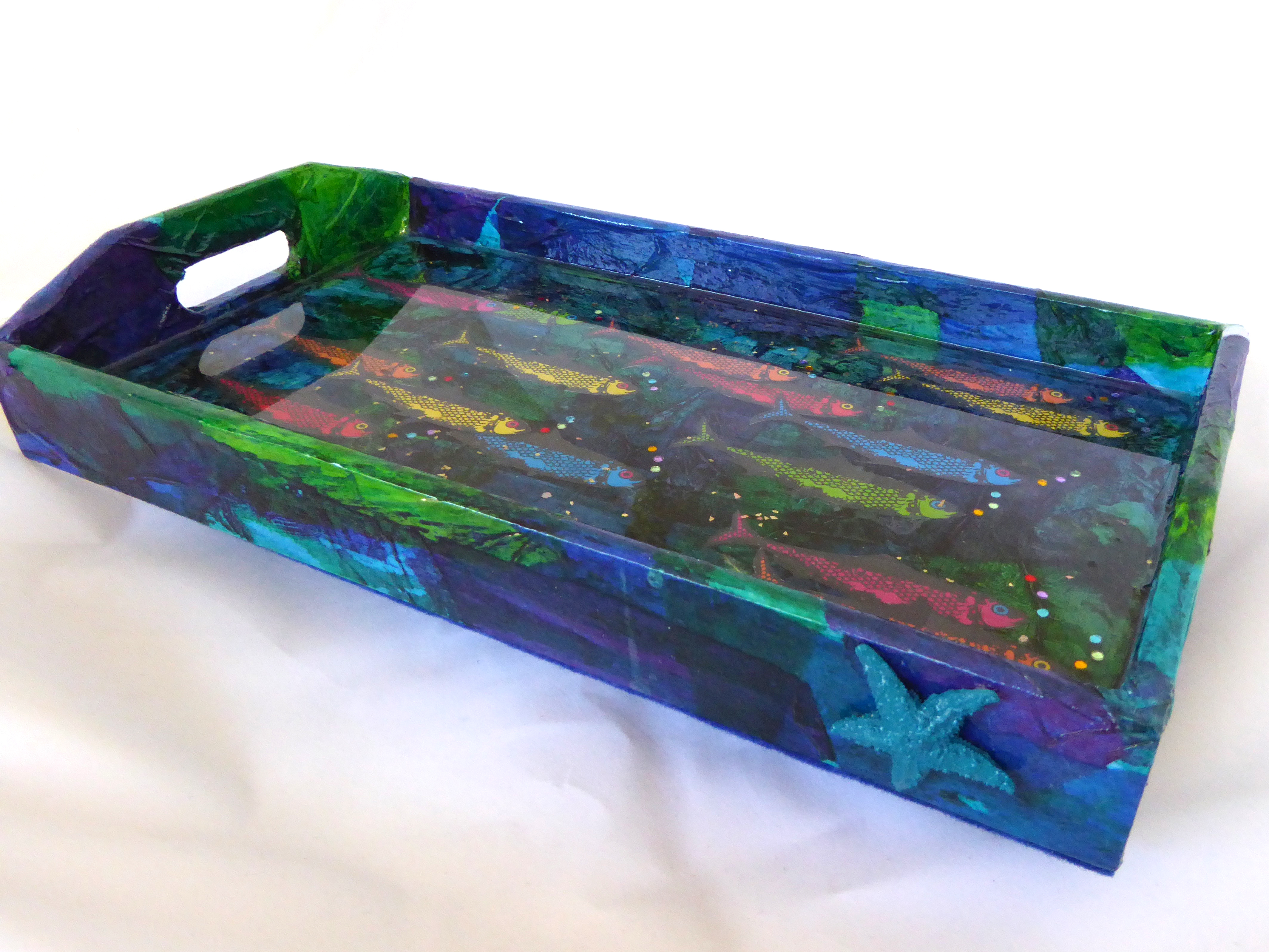 Sardine Serving Tray-side view