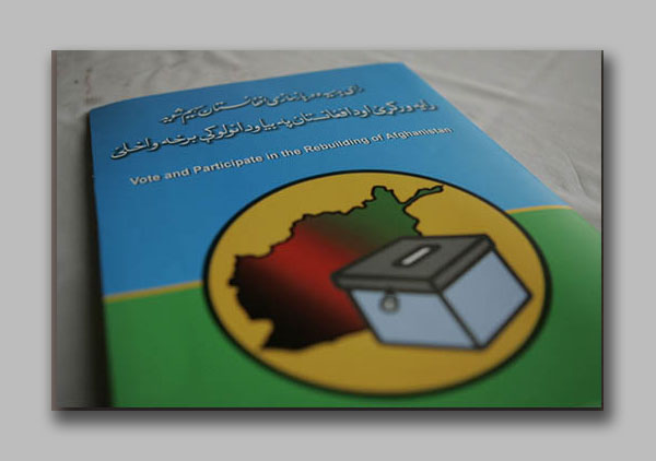 Afghanistan Elections media kit