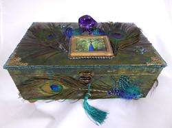 Jewelry Box - Peacock design