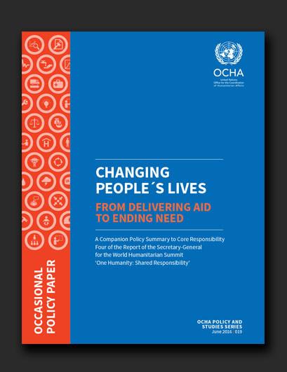 OCHA World Humanitarian Summit companion piece