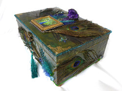 Peacock Jewelry Box – Side view