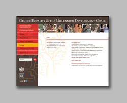 World Bank Gender Equality & the MDGs  website