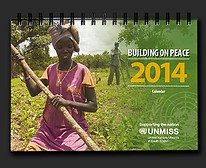 South Sudan UNMISS calendar 2014