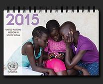 UNMISS South Sudan calendar 2015