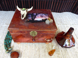 New Mexico Jewelry Box – in setting