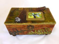 Jewelry Box - Dragonfly design