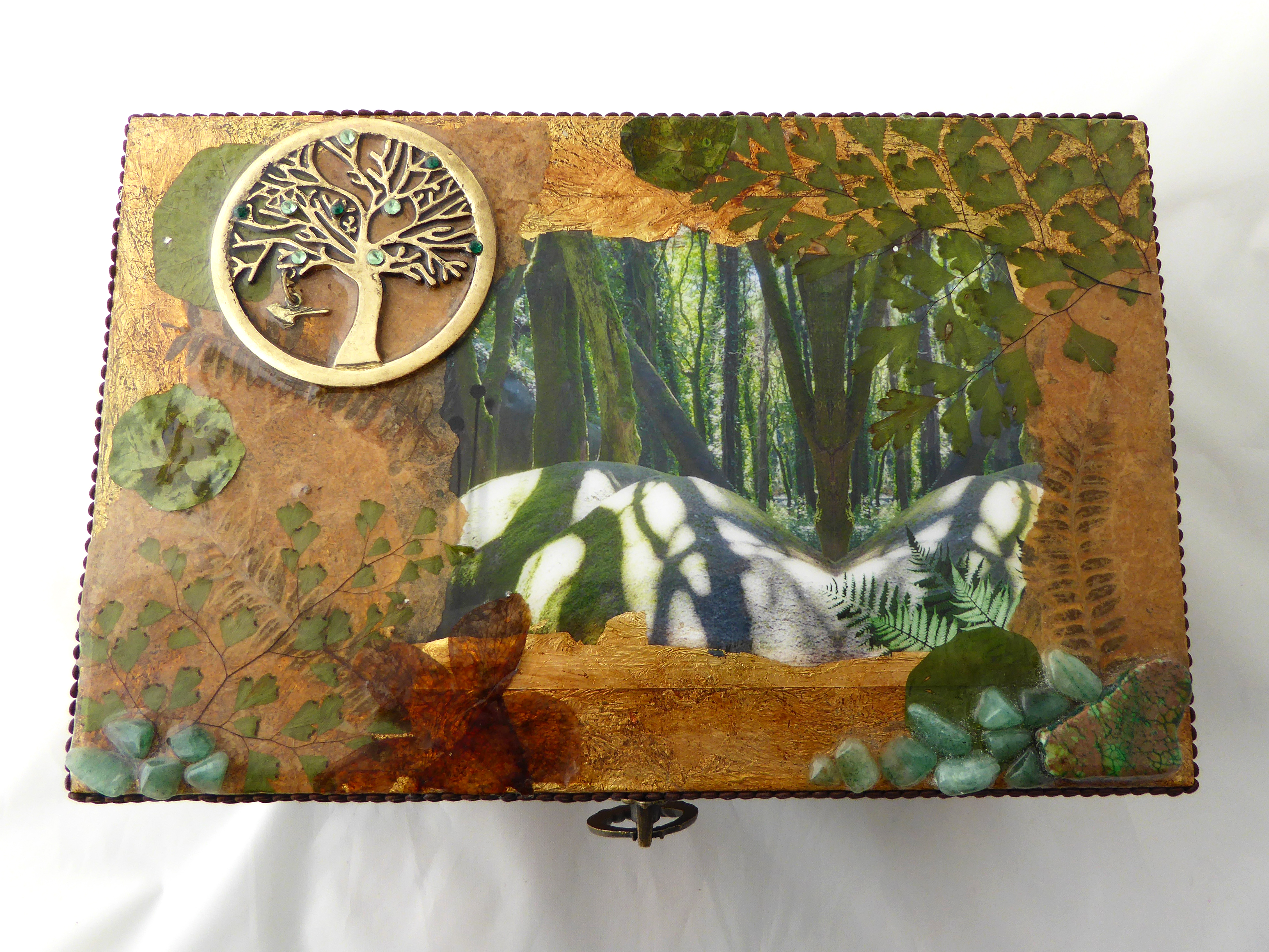 Tree of Life decorative box