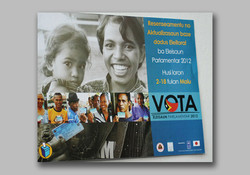 Parliament elect registration poster