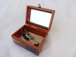 Poppy Jewelry Box - interior