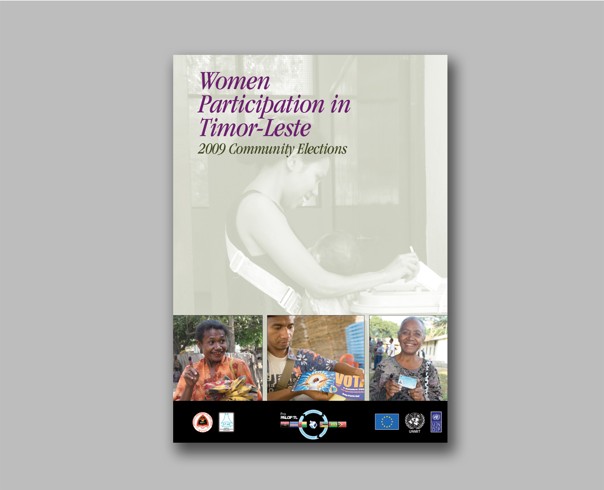 Women Participation in Timor-Leste Community Leaders Election