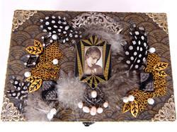 Art Deco Jewelry Box – Top View