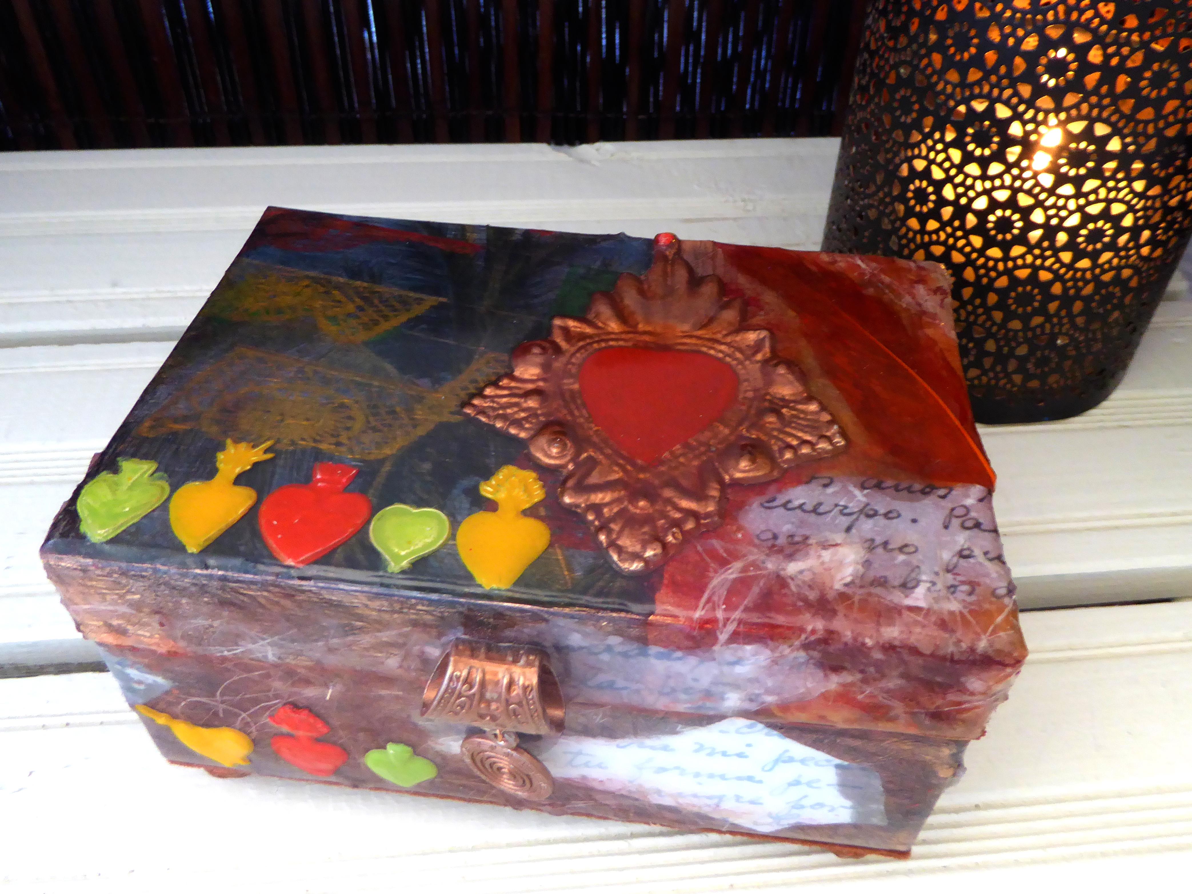 sacred heart decorative box