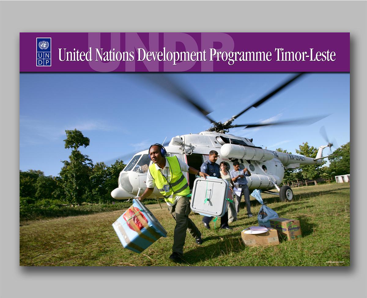 UNDP marketing campaign poster