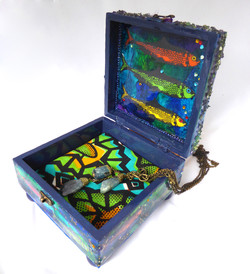 Sardine Jewelry Box – Interior
